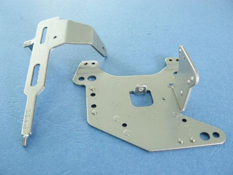 sheet metal plate stamping / cutting for customized spring clip / bracket