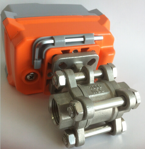 Water/Oil/Gas Electric Actuator Valve Stainless Steel Body