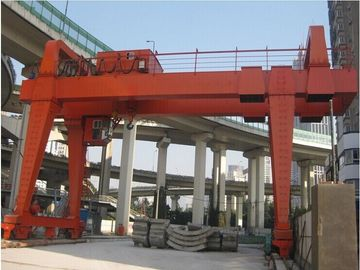 चीन MG model heavy duty Double girder gantry crane 20 ton आपूर्तिकर्ता