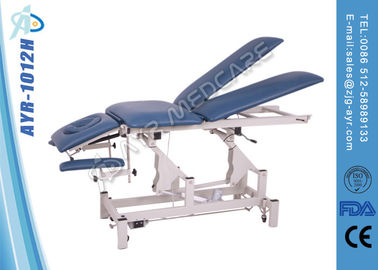 चीन Split - Leg Electric Treatment Coach Massage Table With Separated Legrst आपूर्तिकर्ता
