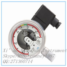 चीन customizable Manometer for sf6 Stainless steel gas pressure gauge manufacturer आपूर्तिकर्ता