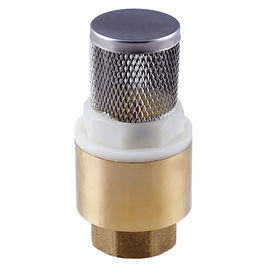 "चीन with stainless steel filter spring brass check valve NPT BSPT 1/2"" to 4"" आपूर्तिकर्ता"