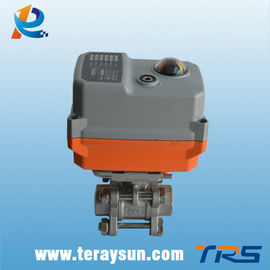 चीन Water/Oil/Gas Electric Actuator Valve Stainless Steel Body आपूर्तिकर्ता