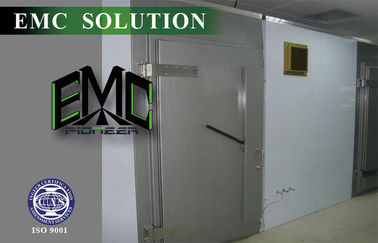 Industrial Electric / Manual RF Shielding Doors For Anechoic Chamber/Shielding room